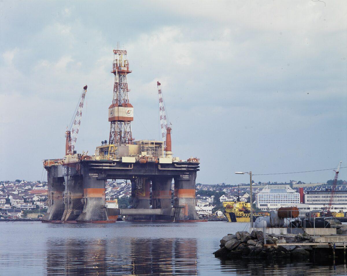 Öl-Bohrinsel in Norwegen