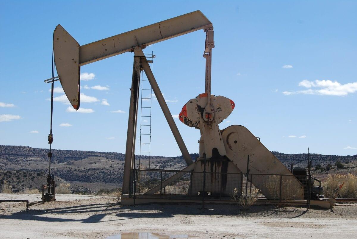 Öl-Pumpe in den USA