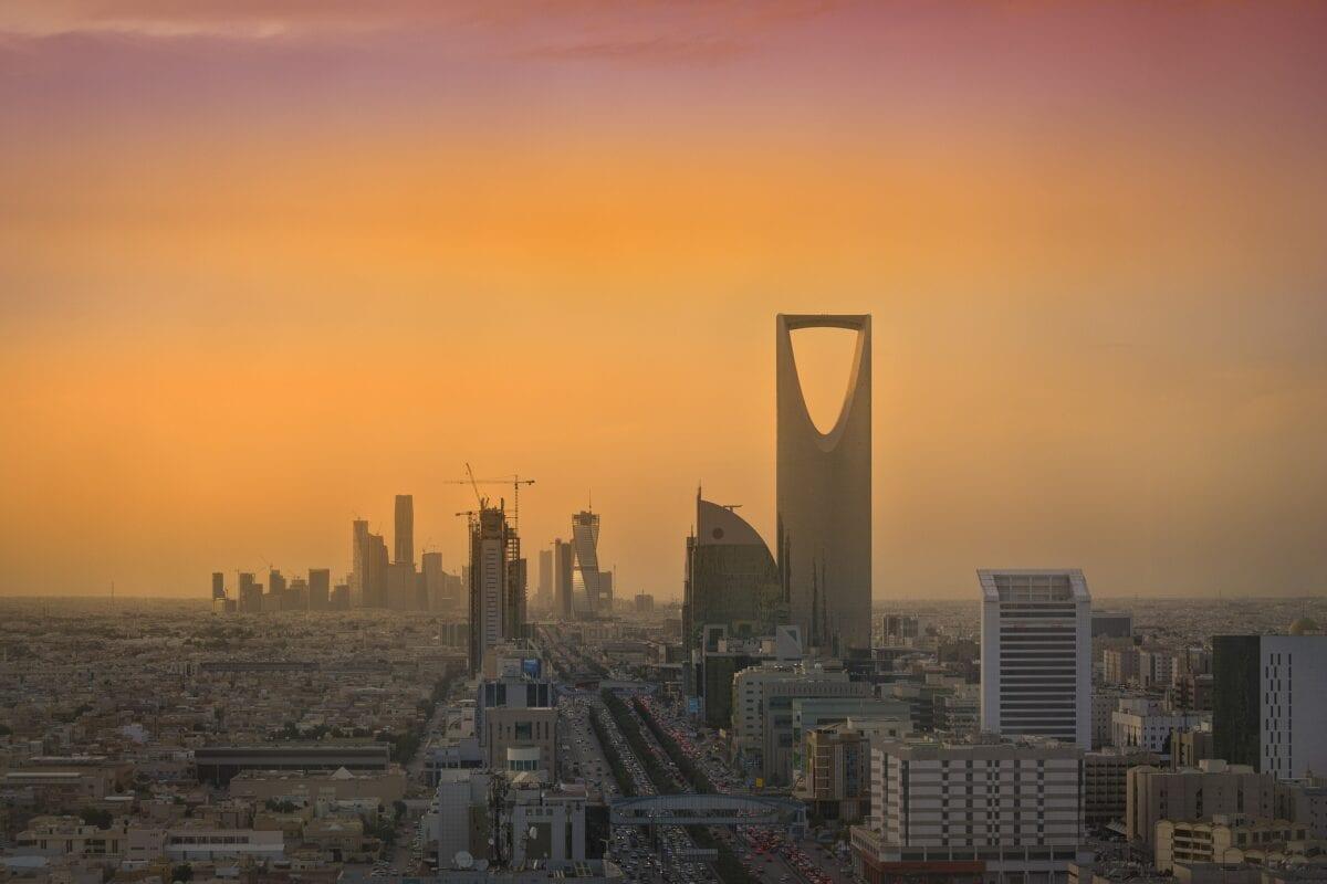 Riad ist die Hauptstadt von Saudi-Arabien