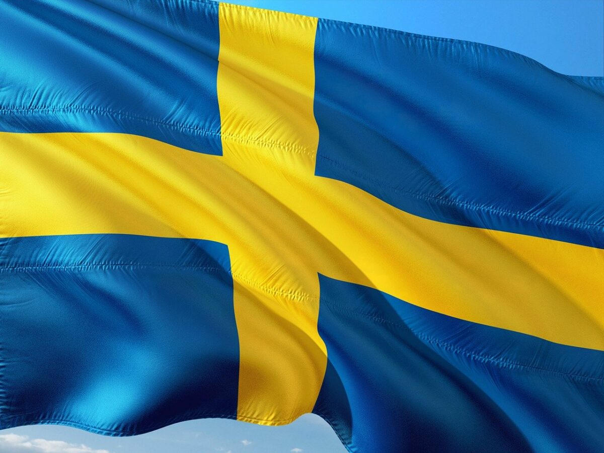 Schweden Nationalflagge