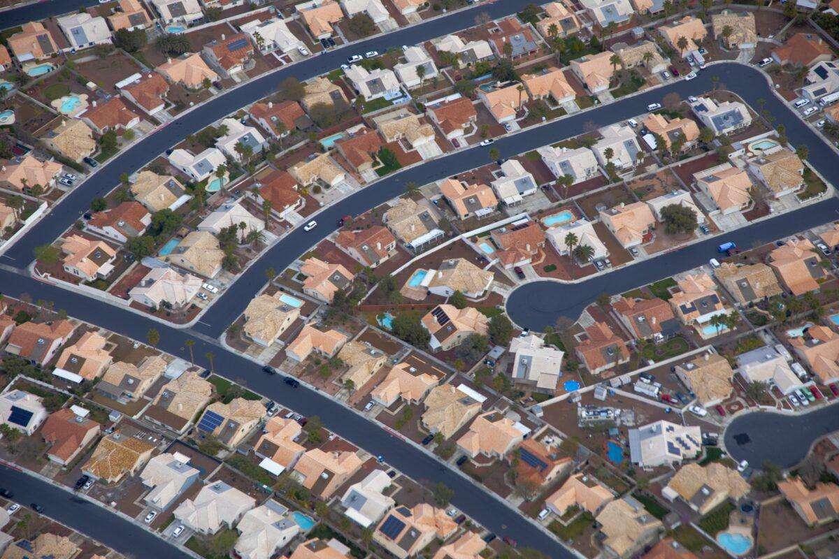 Vorortsiedlung in Las Vegas - US-Immobilienkredite nehmen zu