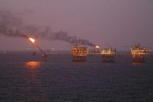 Der Preis für Öl (Brent) kam gestern stark unter Druck