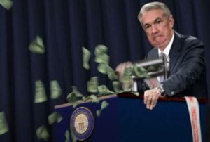 Die Fed schmeißt mit Geld nur so um sich