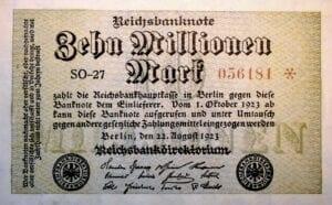 Wenn Inflation aus dem Ruder läuft wie in Deutschland