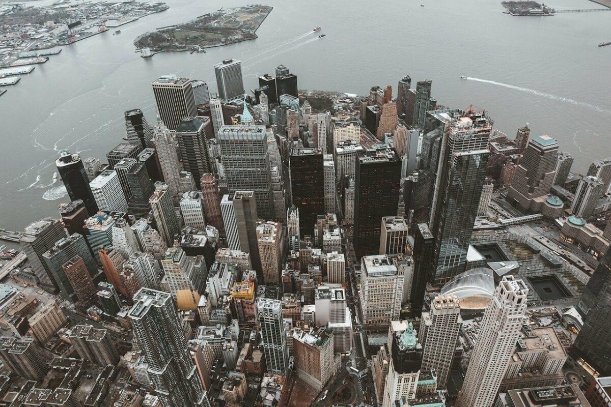 Lower Manhattan als Zentrum für den US-Aktienmarkt