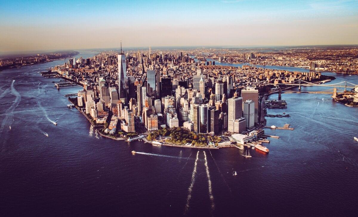 New York ist das Zentrum wichtiger Banken in den USA