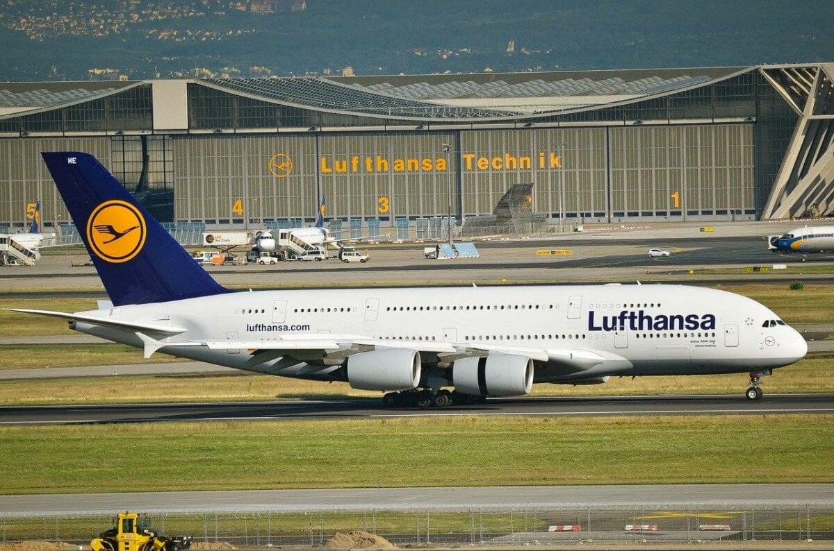 Eine Lufthansa A380