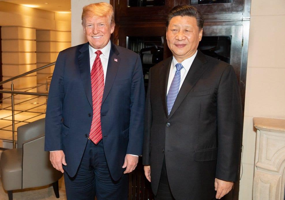 Xi Jinping und Donald Trump