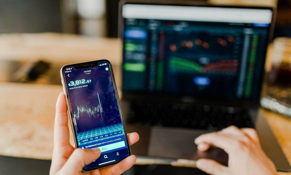 Trading per App und Laptop