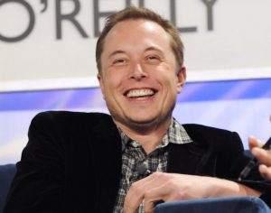 Elon Musk hat gute Laune - und will, dass die Aktie von Tesla in den S&P 500 aufsteigt