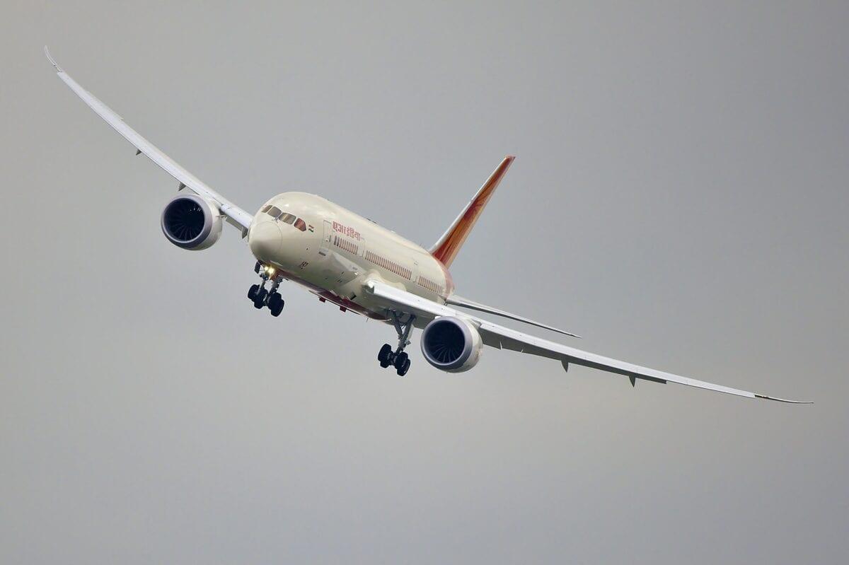 Eine Boeing 787 Dreamliner