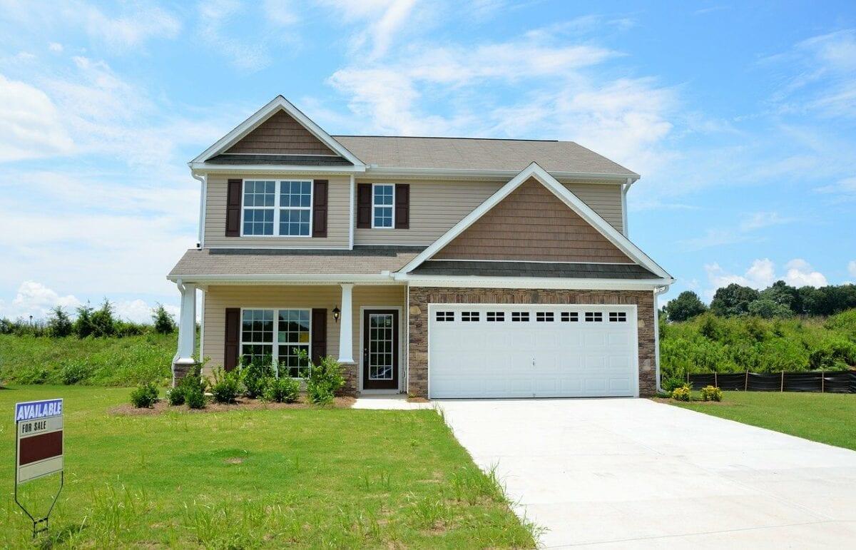 Hypotheken laufen wie wild - typisches Haus in US-Vororten