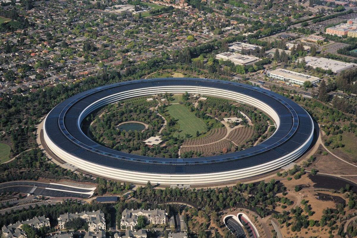 Das Apple Ufo - Symbol für die Stärke der Tech-Aktien im Silicon Valley