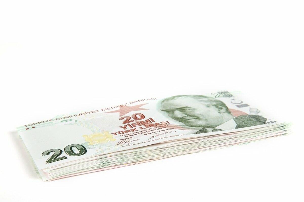 Türkische Lira Geldscheine