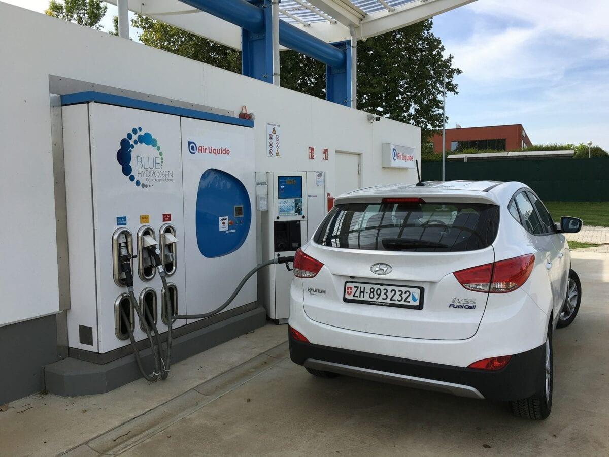 Wasserstoff Tankstelle in Belgien