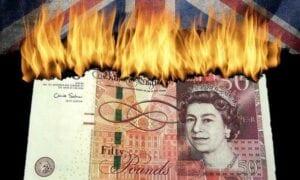 Die späte Reaktion auf das Coronavirus ließ in Großbritannien das BIP stärker einbrechen