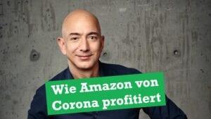 Jeff Bezos profitiert besonders stark von der Kursentwicklung der Amazon-Aktie