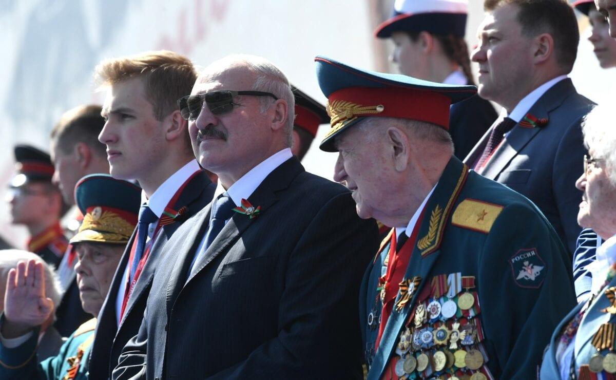 Belarus Präsident Lukaschenko jüngst im Moskau