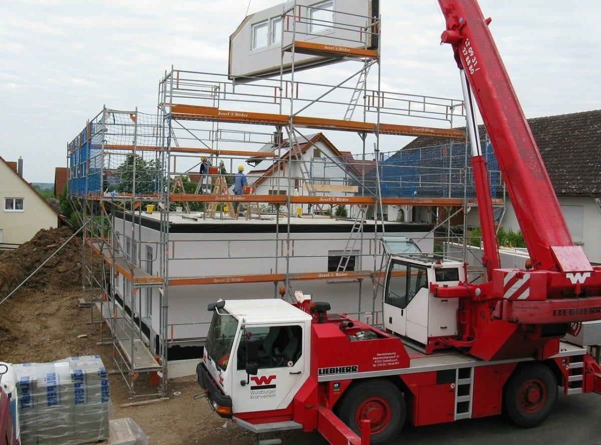 Hausbau in Deutschland - Immobilienpreise steigen weiter an