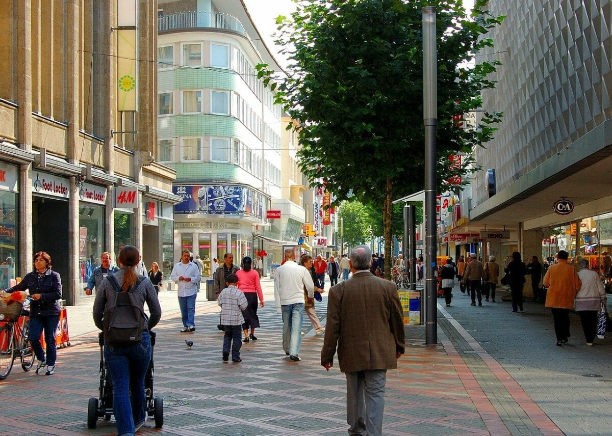 Belebtere Fußgängerzonen dank Mehrwertsteuersenkung?