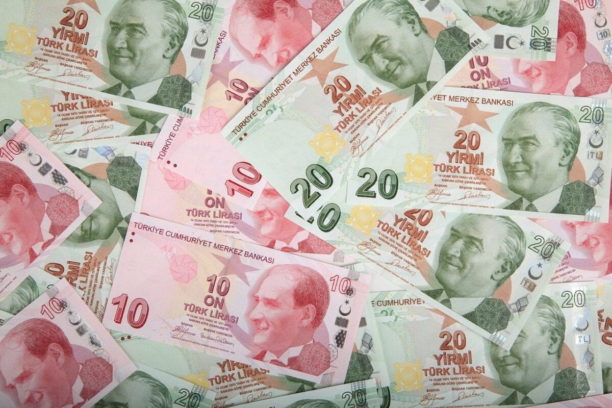 Lira-Geldscheine