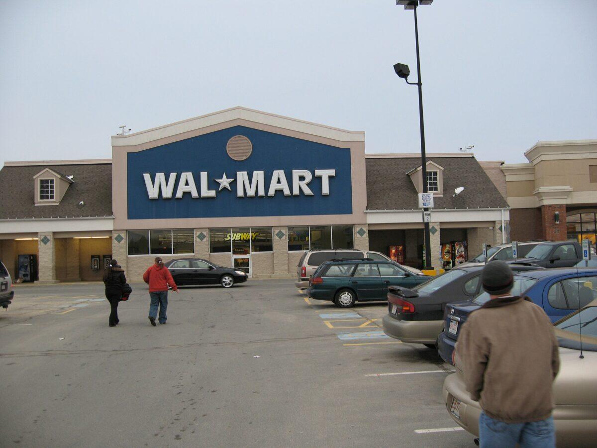 Ein Walmart Geschäft