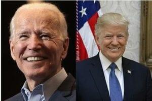 Die Fernsehdebatte zwischen Trump und Biden