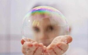 Die Aktienmärkte mit Anzeichen einer Blase