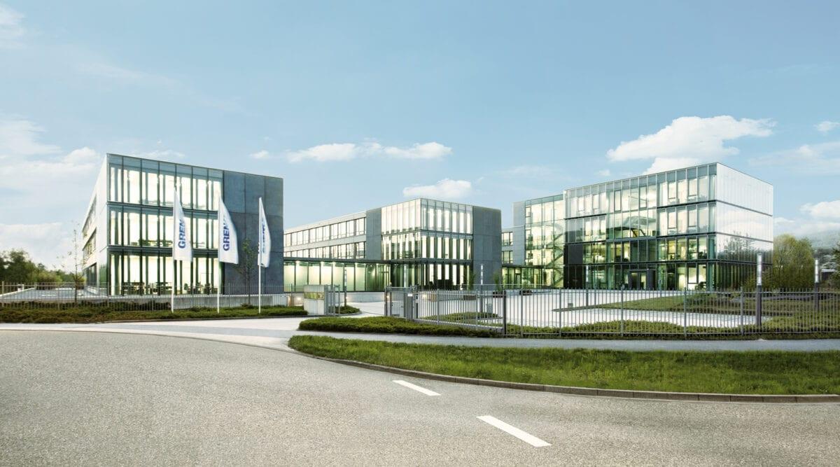 Foto zeigt Firmengelände der Grenke AG