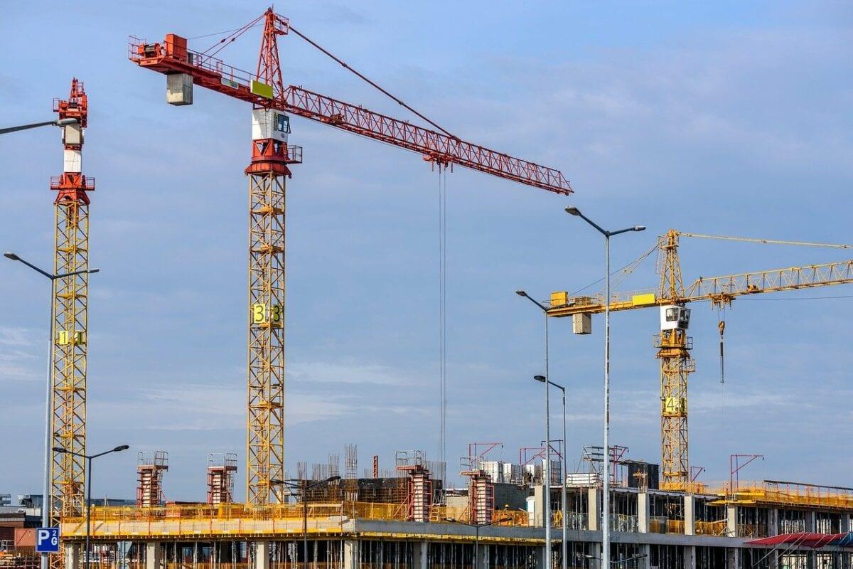 Baugewerbe mit Rückgang bei den Aufträgen