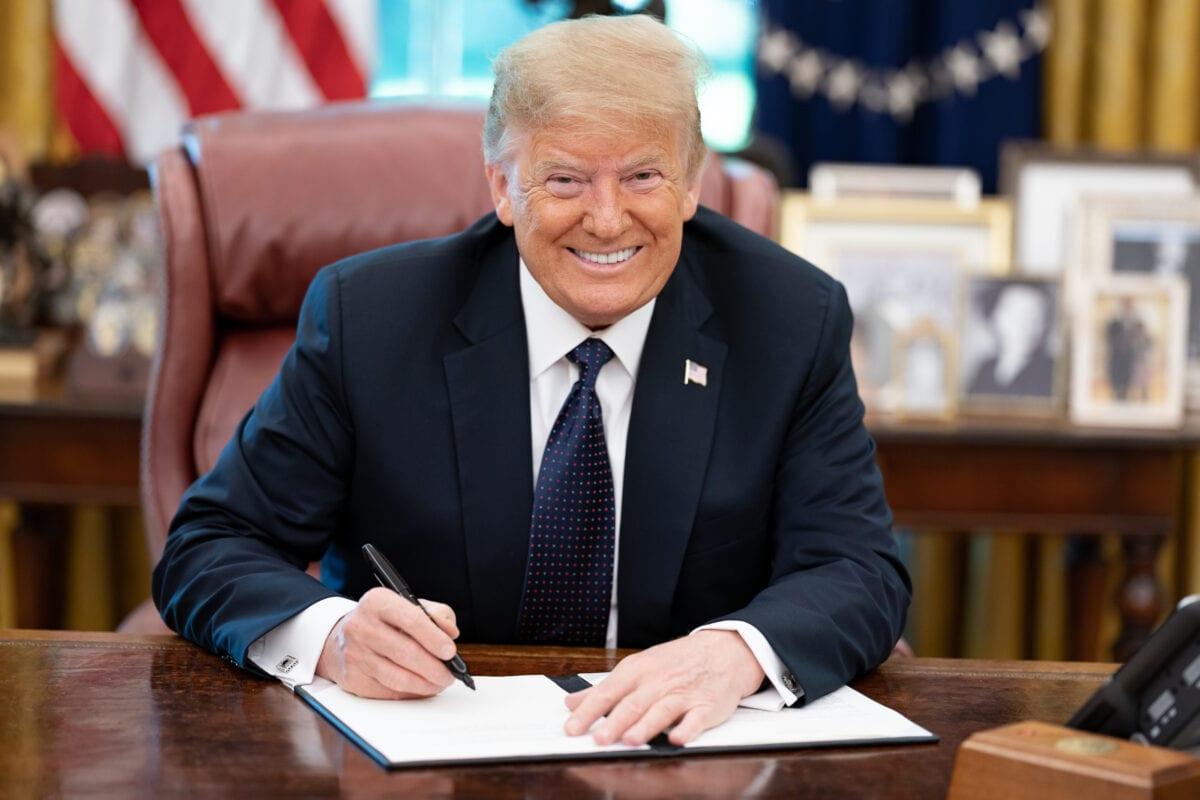 US-Präsident Donald Trump im Juni im Weißen Haus