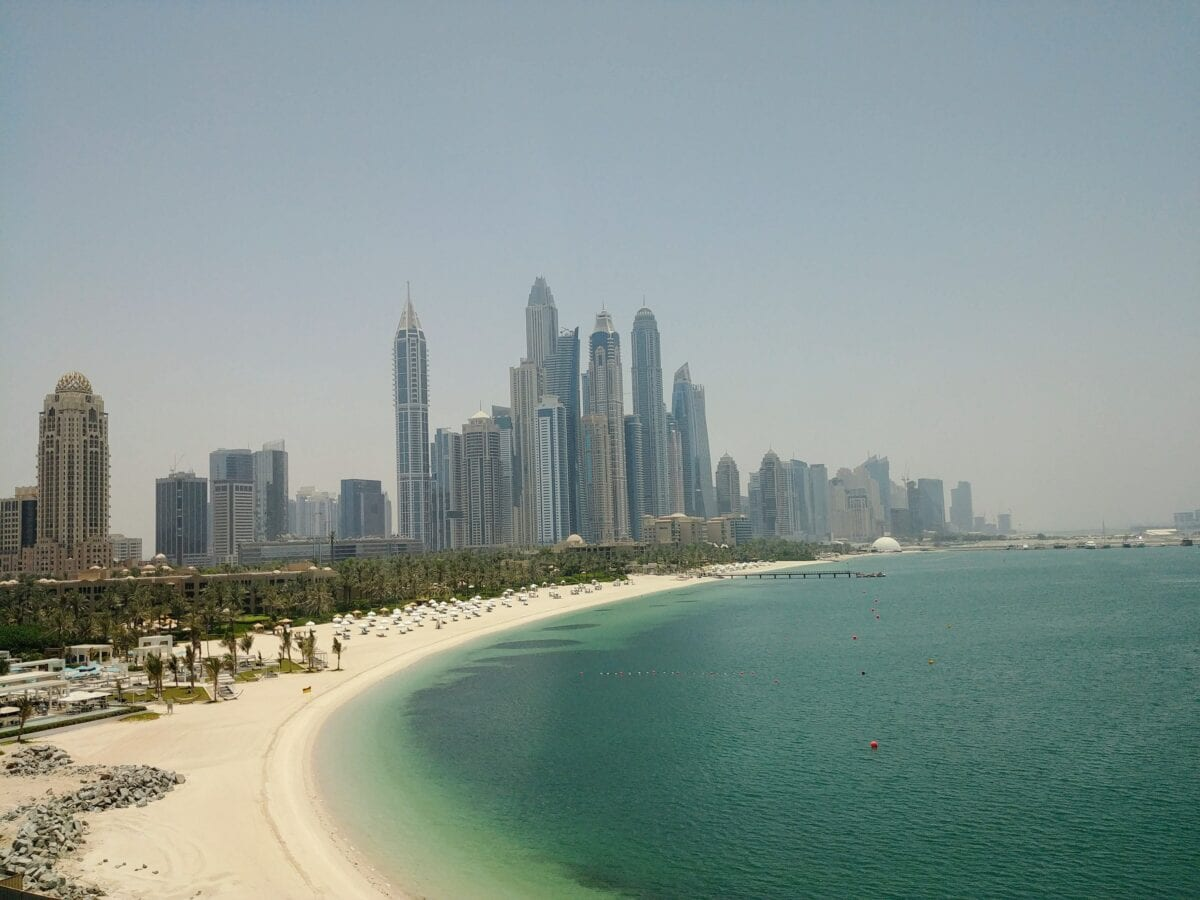 Heile Welt mit Beach-Panorama in Dubai