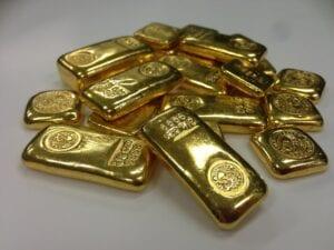 Die Nachfrage nach Gold ist gefallen