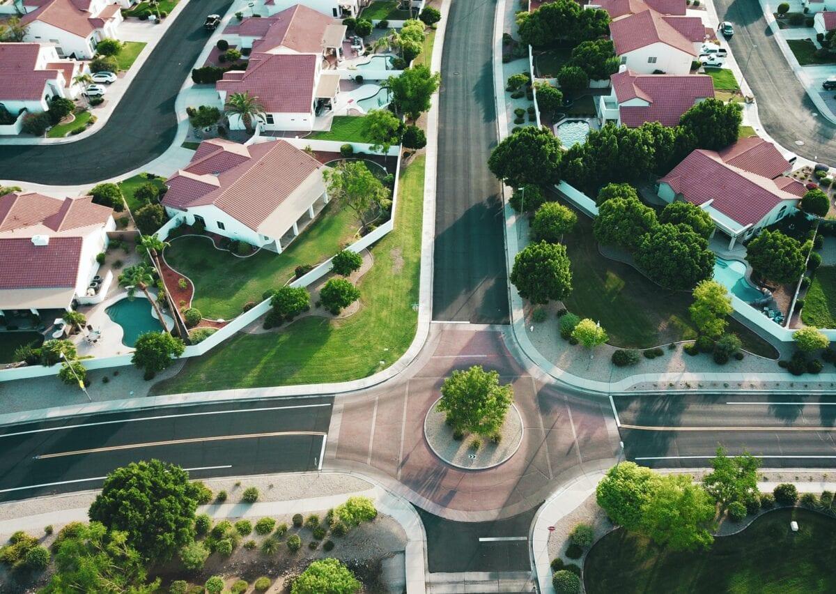 Enormer Ansturm auf Immobilienkredite - Häuser in den USA