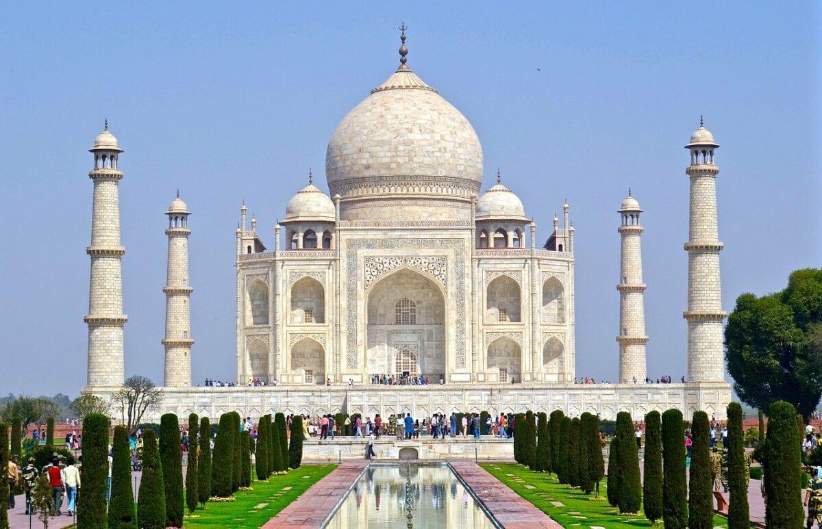 Das Taj Mahal ist das artchitektonische Symbol für Indien