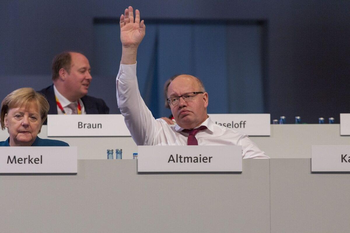 Peter Altmaier im Jahr 2019