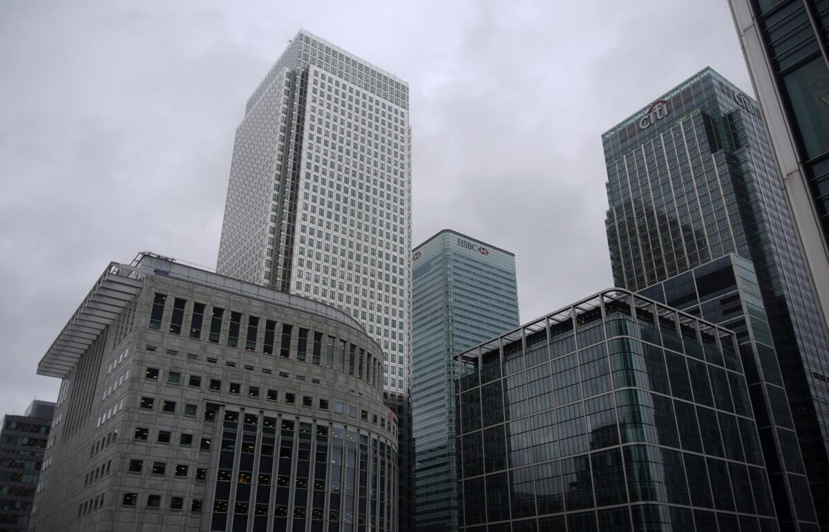 Citigroup Zentrale in London