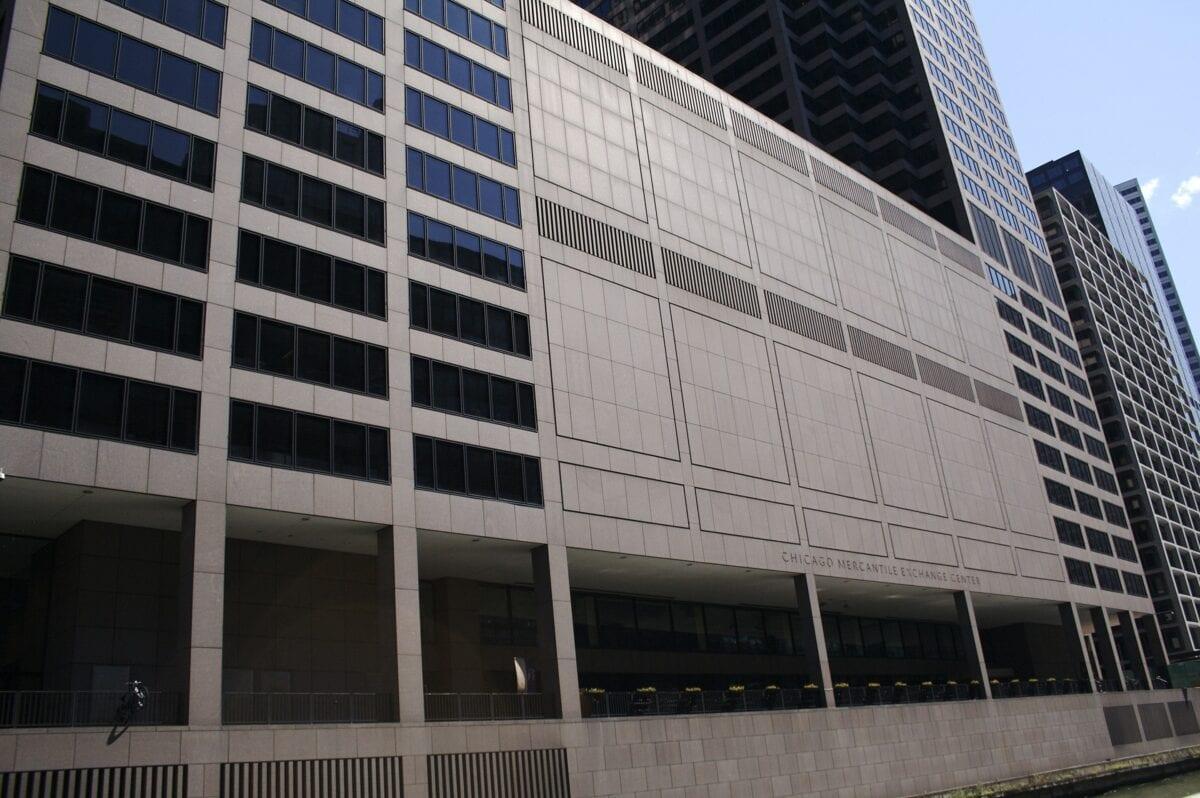 Die Zentrale der CME in Chicago