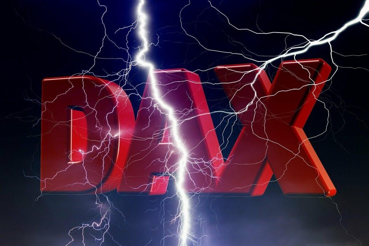 Blitz durch Dax
