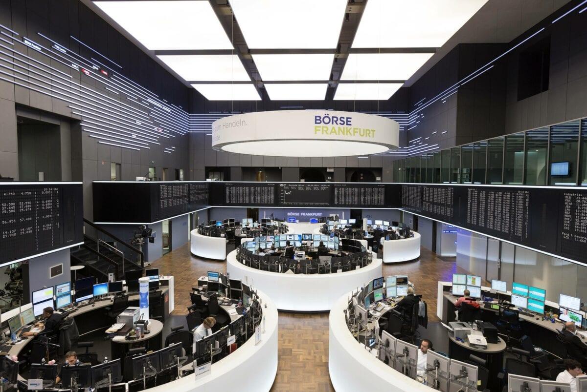 An der Frankfurter Börse wird der Dax-Kurs ermittelt