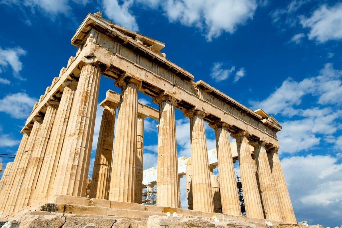 Die Akropolis als Symbol für Griechenland