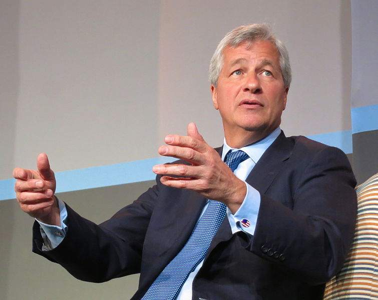 JP Morgan Chef Jamie Dimon