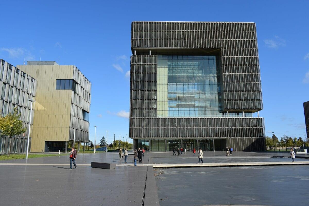 Die ThyssenKrupp-Zentrale in Essen