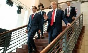 Die Aktienmärkte mit einer Rally nach der Niederlage von Donald Trump