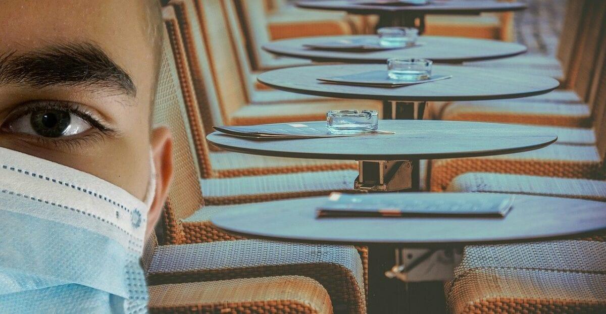Leere Restaurants im zweiten Lockdown befeuern die Rezession