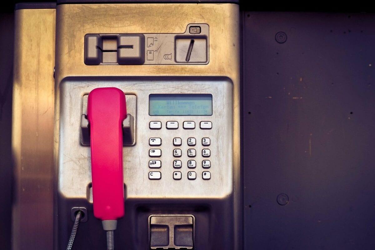 Telefonzelle der Telekom