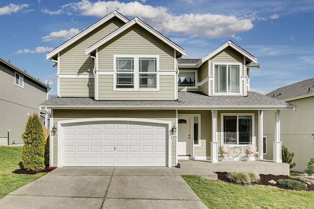 Typische Bauweise am US-Häusermarkt