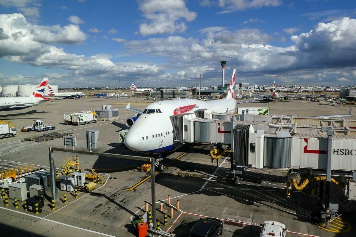 London Heathrow ist der größte Flughafen in Großbritannien