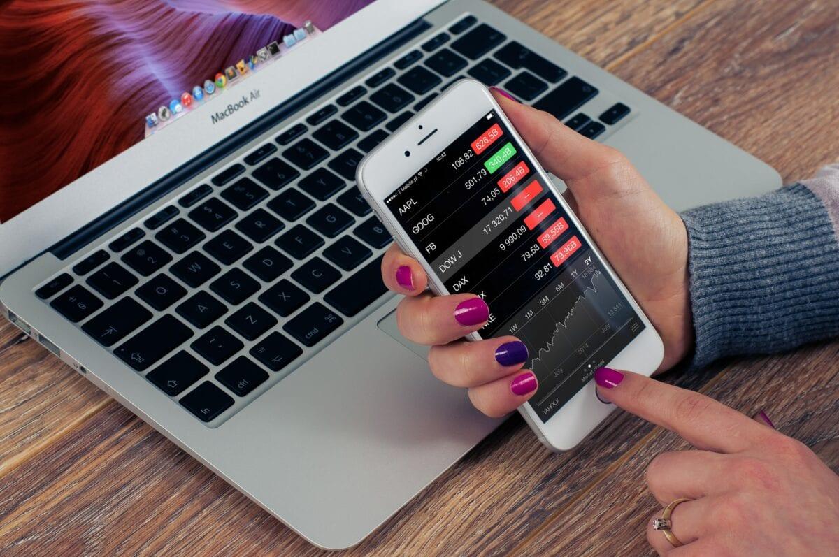 Trading über App