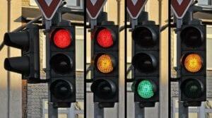 Die Ampel für die Aktienmärkte springt auf gelb